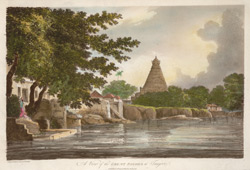 A View of the Great Pagoda at Tanjore(019XZZ000000307U00023000)